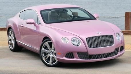 розовый бентли