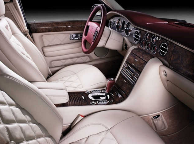 bentley arnage салон
