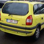 Vauxhall/ opel zafira cars